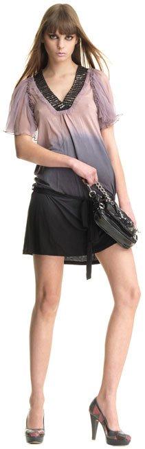 vestidos holgados color negro