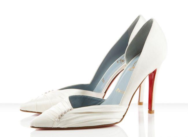 zapatos blancos para novias