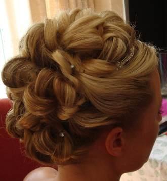 peinados elegantes para novias