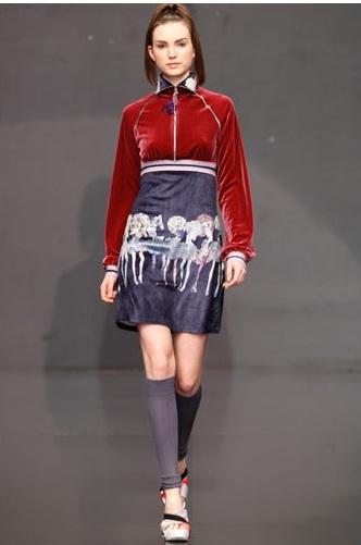 prendas femeninas modernas