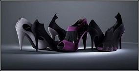 zapatos de tacón aguja