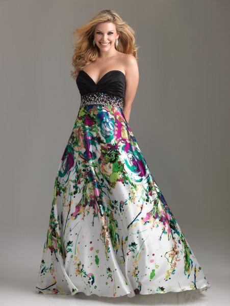 vestidos talles especiales