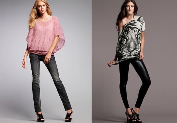 pantalones y blusas de moda
