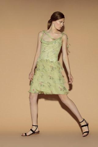 vestidos en tonos verdes