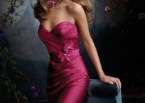 vestidos asimétricos para damas de honor