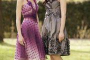Vestidos elegantes para damas de honor