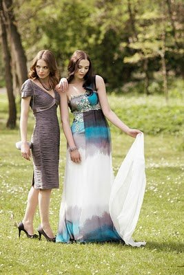 vestidos cortos para damas de honor