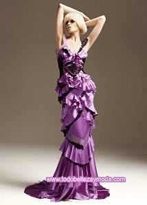 vestidos elegantes con capas