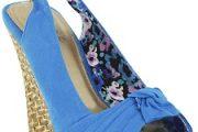 Zapatos casuales estampados florales