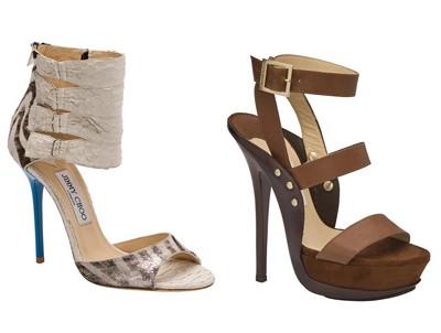 zapatos modernos altos