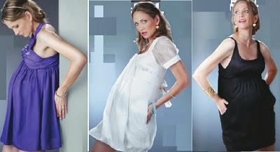 moda de fiesta embarazadas