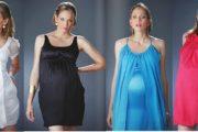 Vestidos de fiesta de fin de año para embarazadas