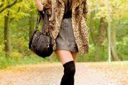 Vestidos y accesorios con estampado de leopardo