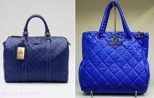 carteras color azul