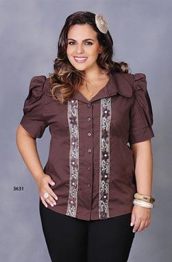 blusas de fiesta gorditas