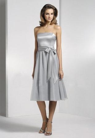 vestidos de gasa para damas de honor
