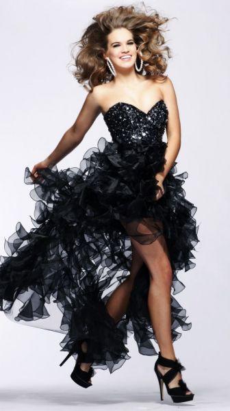 vestidos con brillantes