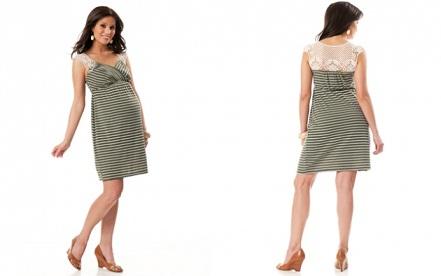 vestidos ceñidos para embarazadas