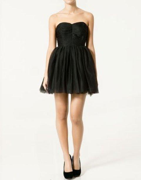 vestidos con escote profundo
