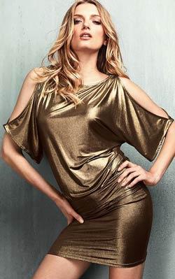 vestidos elegantes de navidad