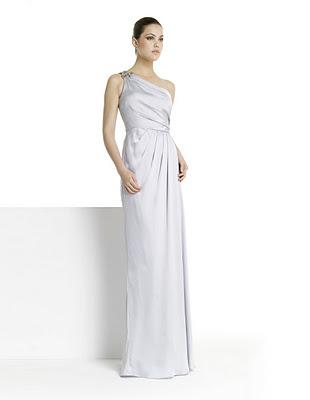 vestidos lisos de fiesta