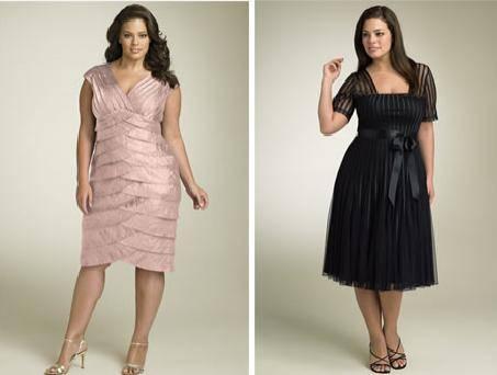 vestidos cortos de fiesta gorditas