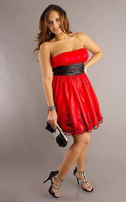 vestidos de gasa para gorditas