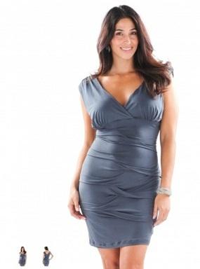 vestidos strappless para gorditas