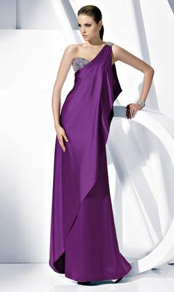 vestidos largos pomposos de fiesta