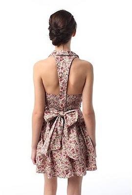 vestidos casuales con estampados