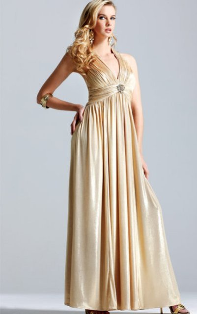 vestidos dorados para bodas