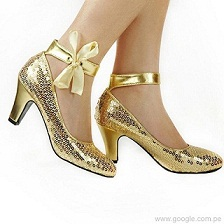 modelos de zapatos brillantes