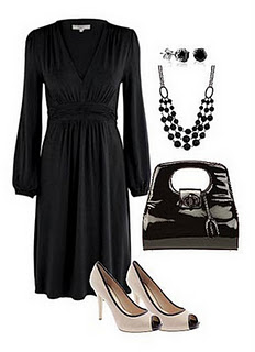26e6cf00e Vestidos negros y accesorios modernos que combinan