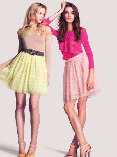 vestidos fucsia de moda