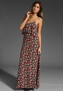 vestidos casuales estampados