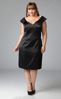 vestidos cortos para fiestas gorditas