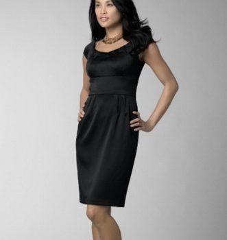 vestidos negros modernos
