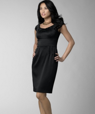 Vestidos casuales color negro para gorditas