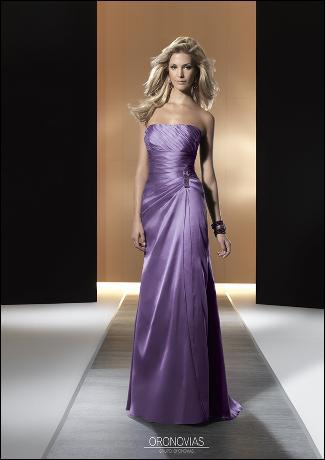 Vestidos Sencillos elegantes para madrinas de bodas | AquiModa.com