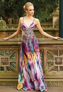 vestidos largos y cortos de fiesta