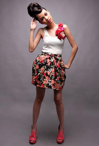 blusas estampados con flores