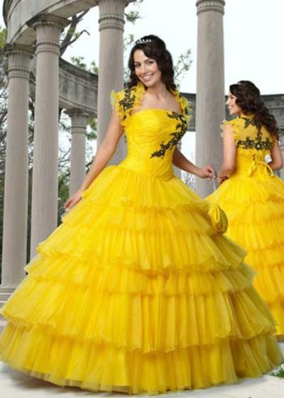 vestidos pomposos de quinceañera