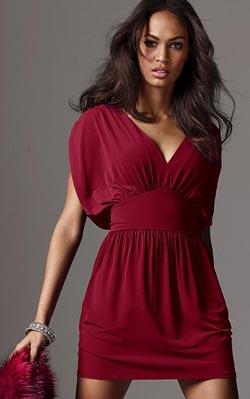 vestidos color rojo para fiestas