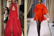 Vestidos rojos para recibir el año 2012