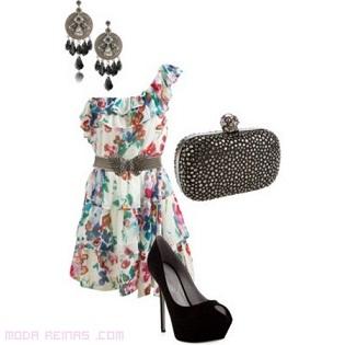 vestidos asimétricos de fiesta