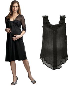 vestidos de colores para embarazadas