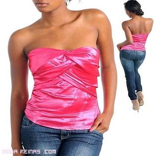 blusas casuales apretadas