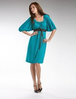 vestidos casuales manga larga
