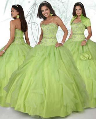 vestidos pomposos de quince