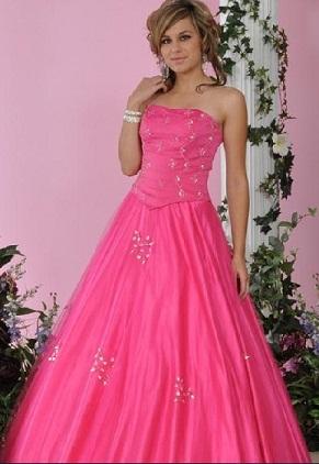 llamativos vestidos de quince